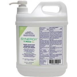 Synergy Liquid Hand Sanitizer Gel with Aloe: 1500 ml, 70% alcohol