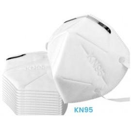 Face Mask: disposable KN95, 25 masks/bx
