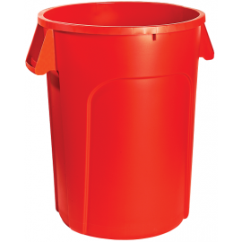M2 Waste Container: 44 gal / 166 L, Red