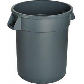 M2 Waste Container: 44 gal / 166 L, Grey