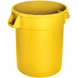 M2 Waste Container: 44 gal / 166 L, Yellow