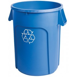 M2 Recycling Container: 44 gal / 166 L, Blue