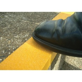 "Safestep Anti-Slip Step Edge: 48"" x 2 ¾"" x 1¼"" course grit"