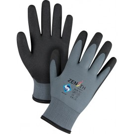 Zenith ZX-30° Gloves: sz. 9 PVC palm coated