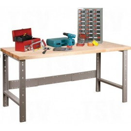Hardwood Top Workbench
