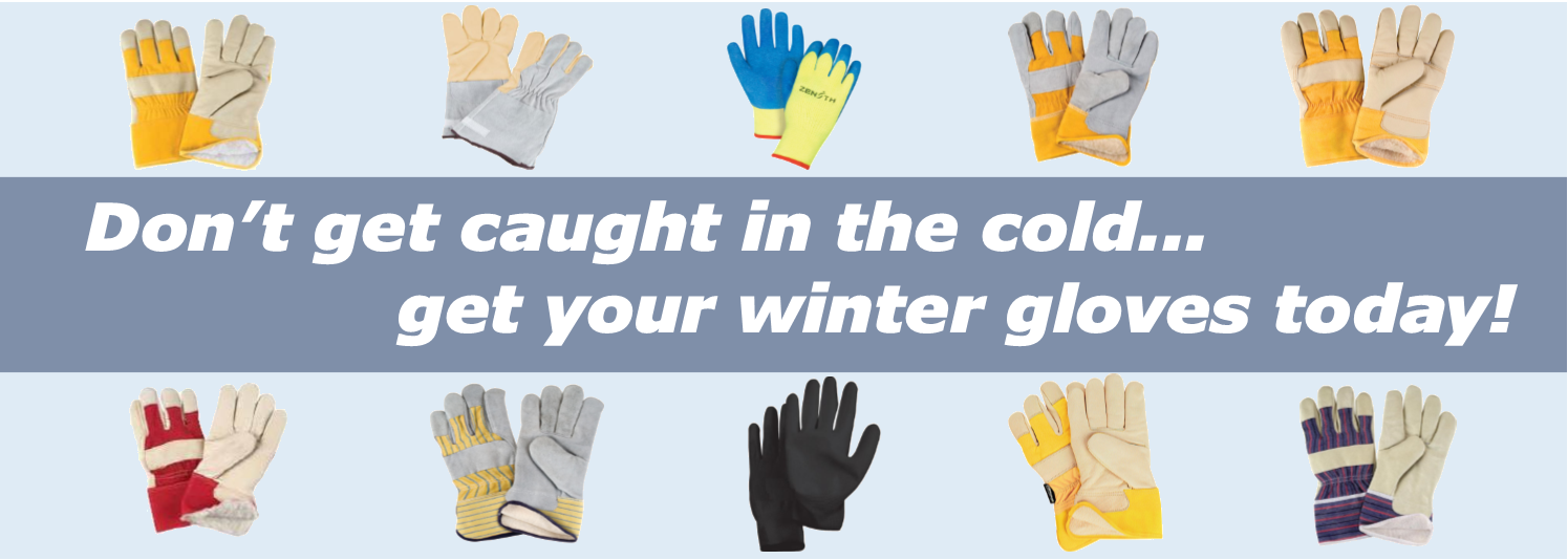 We have your hands covered this winter.